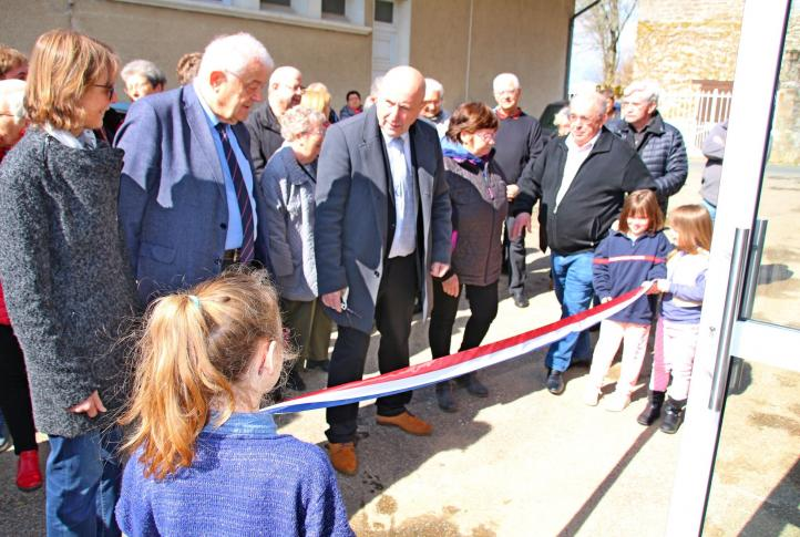 Inauguration du nouveau local
